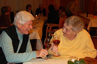 Elsa Ballmann und Ingeborg Reusch