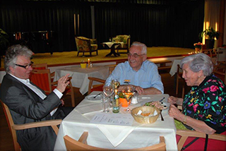 Nix nach dem offiziellen Talk: im Gespräch mit Bewohnern des KWA Parkstift Rosenau