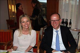 Gast Sandra Gräfin Bernadotte und KWA Vorstand Dr. Stefan Arend