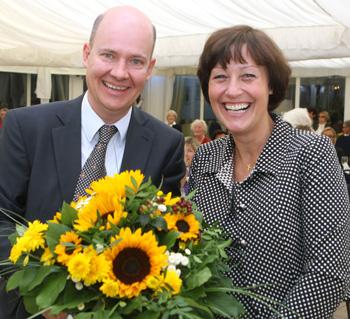 Dank für die Festrede an Prof. Martina Wegner