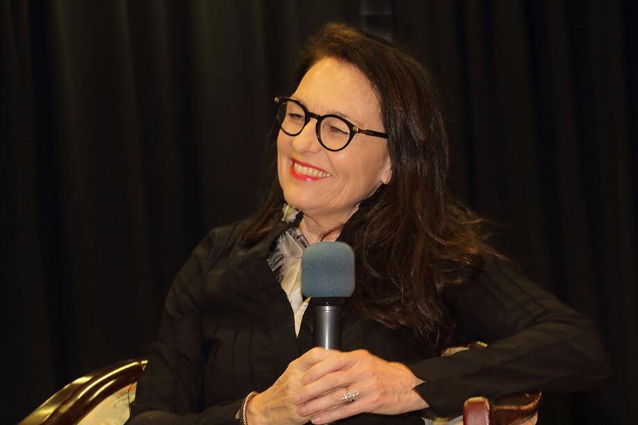 Talkgast im März 2019: Stifterin Gabriela Maier-Unbehaun - gemeinsam mit ihrem Mann leitet sie das MAC Museum Singen