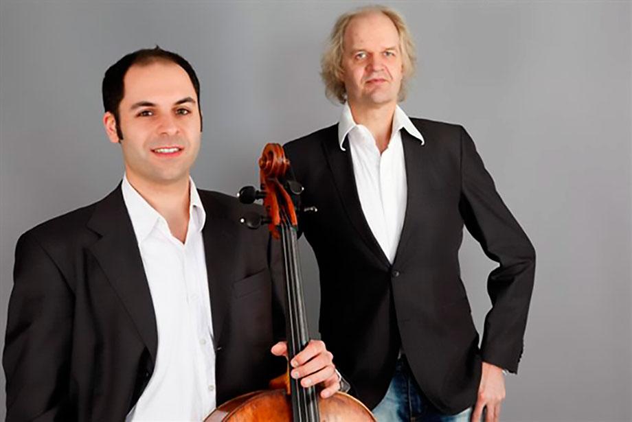 Daniel Sorour am Violoncello und Clemens Kröger am Piano lassen erahnen, wo die Wurzeln moderner Musik liegen
