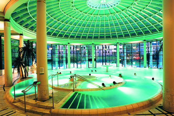 Die Caracalla-Therme in Baden-Baden.
